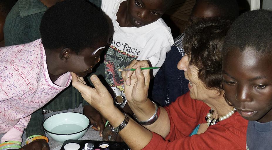 Brenda Davies in Zambia